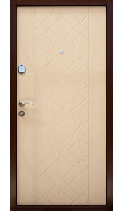Входная дверь Форт Нокс Оптима DL-35 венге фактура/ дуб ценамон