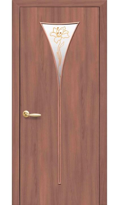 Межкомнатная дверь Бора Р1 экошпон Новый стиль