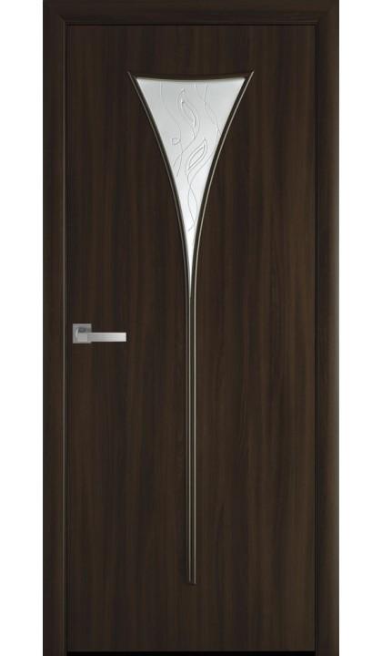 Межкомнатная дверь Бора Р3 экошпон Новый стиль
