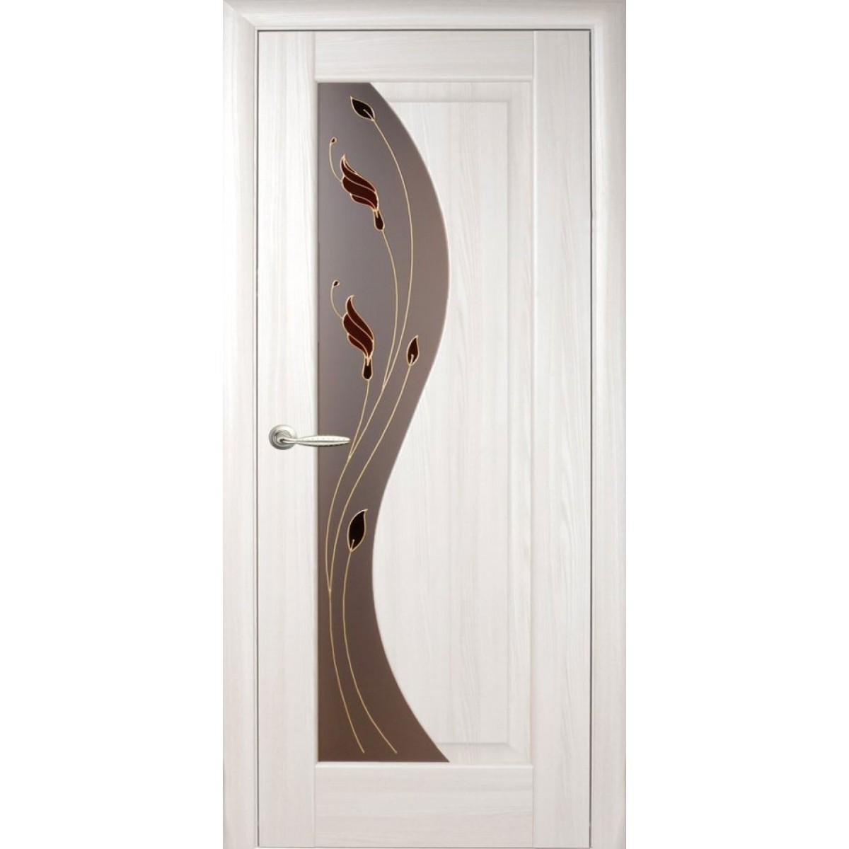 Межкомнатная дверь Эскада Р1 ПВХ Новый стиль