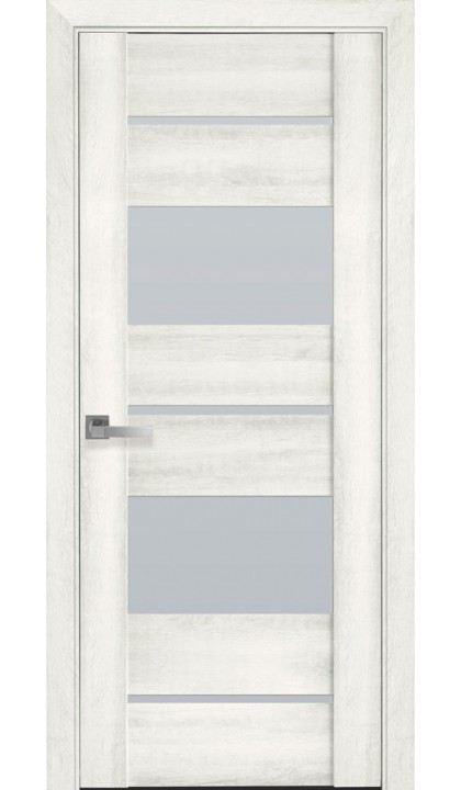 Межкомнатная дверь Аскона ясень NEW ПВХ Viva Новый стиль