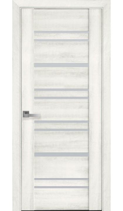 Межкомнатная дверь Валенсия ясень NEW ПВХ Viva Новый стиль