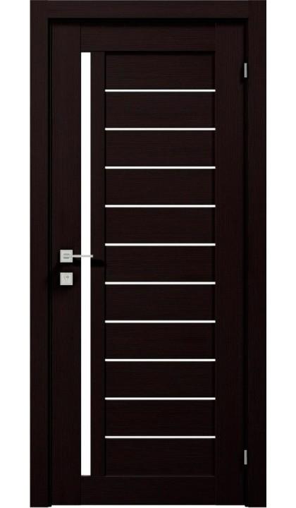 Межкомнатная дверь Modern Bianka полустекло Rodos