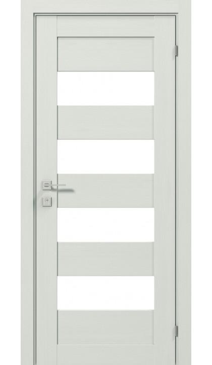 Межкомнатная дверь Modern Milano полустекло Rodos