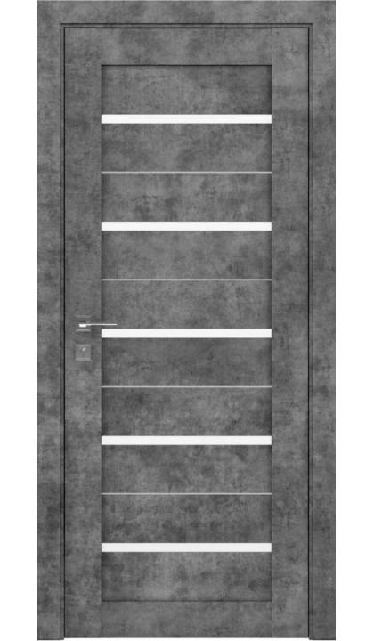 Межкомнатная дверь Modern Lazio полустекло Rodos