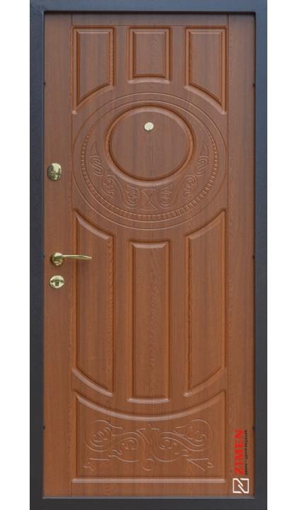 Входная дверь ABWEHR Nova Avers 179 Luck Vinorit Дуб золотой + патина