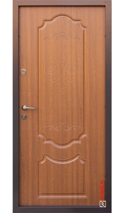 Входная дверь ABWEHR Nova Avers Blanca 399 дуб золотой патина