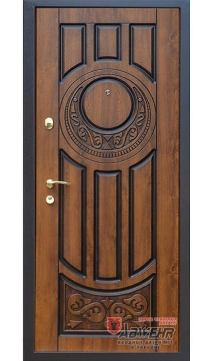 Входная дверь ABWEHR Classic SAP 179 Luck Vinorit дуб золотой + патина