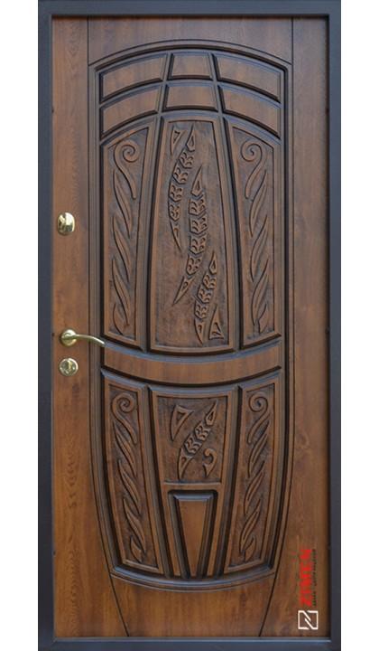 Входная дверь ABWEHR Classic SAP Massandra 209 Vinorit дуб золотой + патина