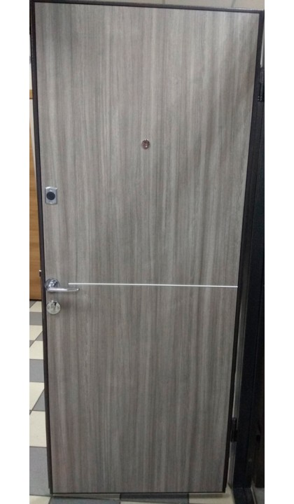 Входная дверь Форт Нокс Гранд Антик серебро / DA-8  Дуб кантри