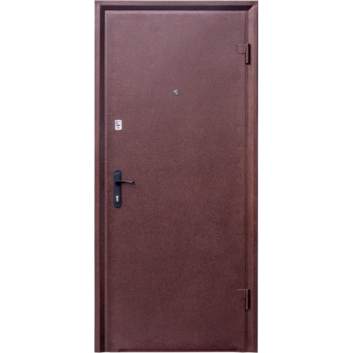 Входная дверь Форт Нокс Форт Антик медь / гладкая орех белоцерковский