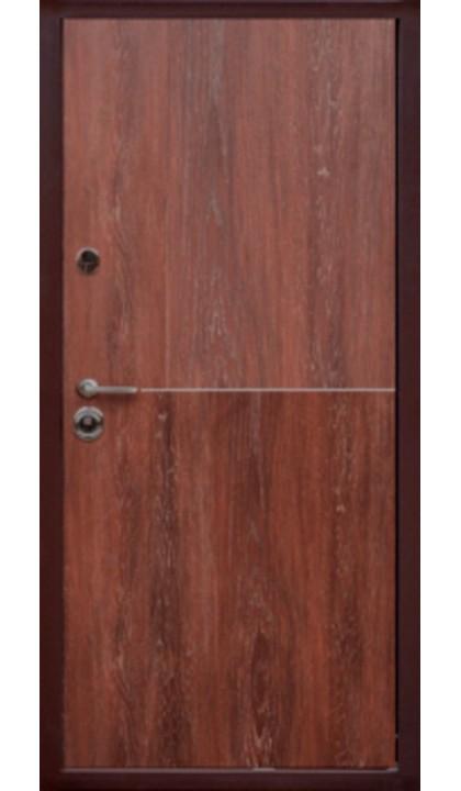 Входная дверь Форт Нокс Гранд Антик медь / DA-8  Орех морёный
