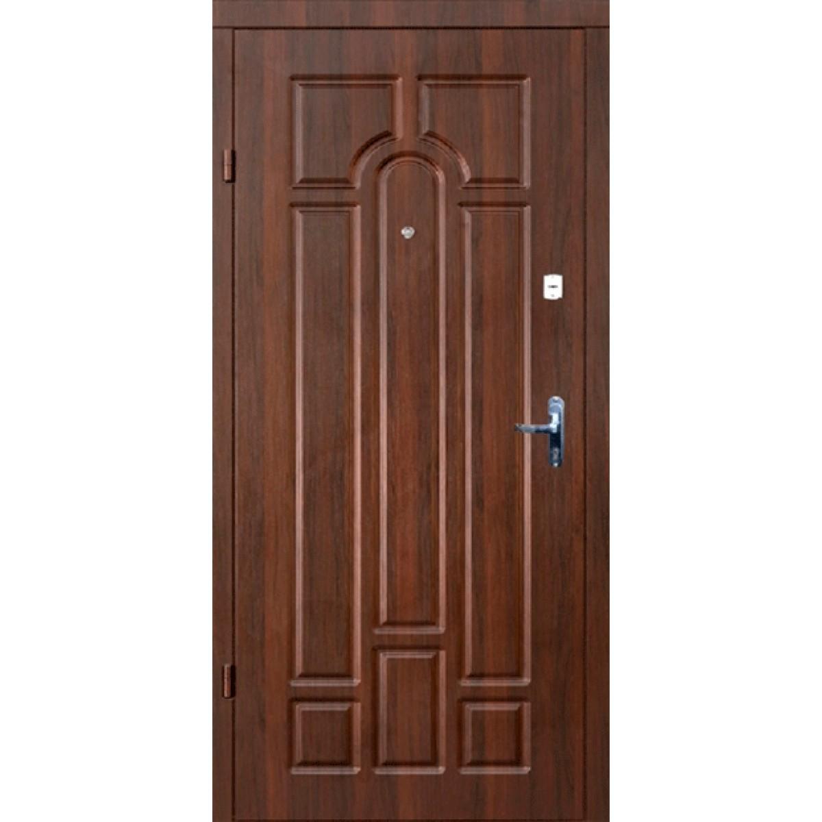 Входная дверь Форт Классик орех темный