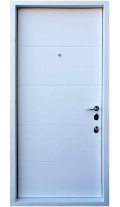 Входная дверь Straj LUX Prestige Соло софт блэк Past / Софт Милк Past