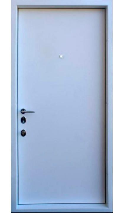 Входная дверь Straj LUX Prestige Трэк антрацит / белое дерево