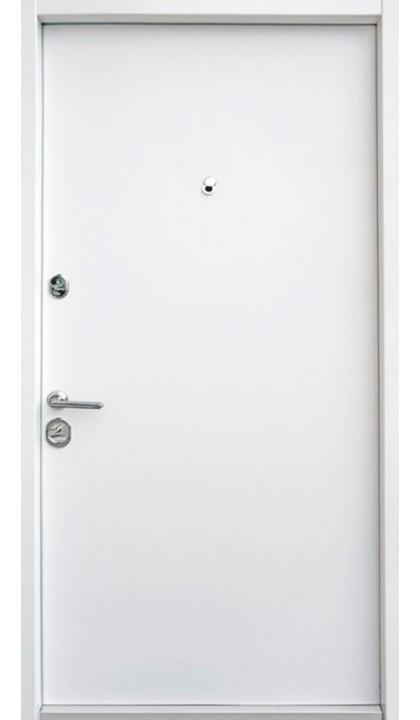 Входная дверь Straj LUX Standart Трэк антрацит / белое дерево
