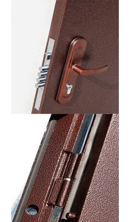 Входная дверь металл / молоток ПС-50 (сота) (50mm)
