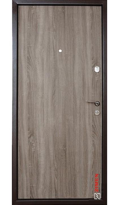 Входная дверь ZIMEN Optima Fuaro Инканта  дуб сантана