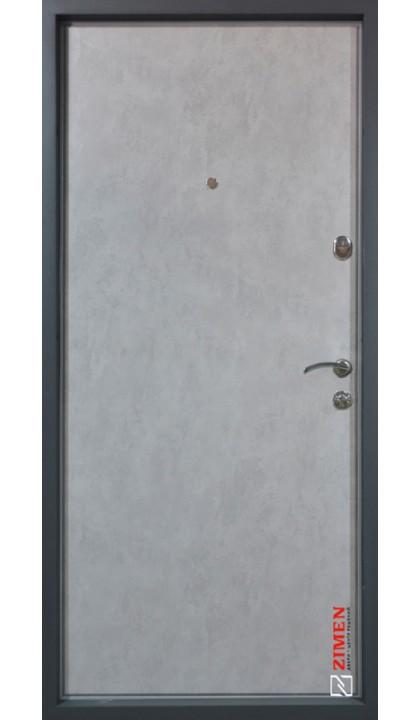 Входная дверь ZIMEN Optima plus Pattern Бетон серый